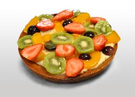 voor de abri campagne gefotografeerde fruittaart