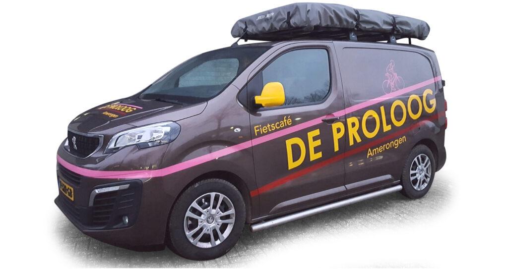De nieuwe Proloog ploegleiderswagen